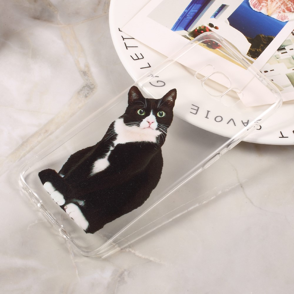 Billede af Samsung Galaxy S8 InCover TPU Cover - Confused Cat