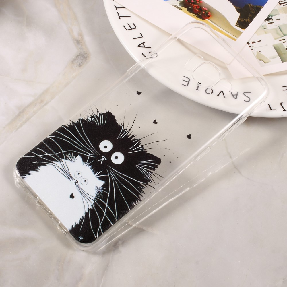 Billede af Samsung Galaxy S8 InCover TPU Cover - Two Cats