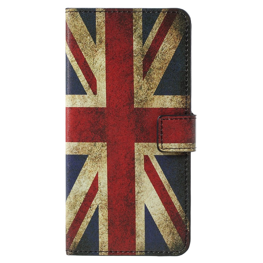 Image of   Samsung Galaxy S8 Plus PU Læder Flipcover m. Kortholder - UK Flag