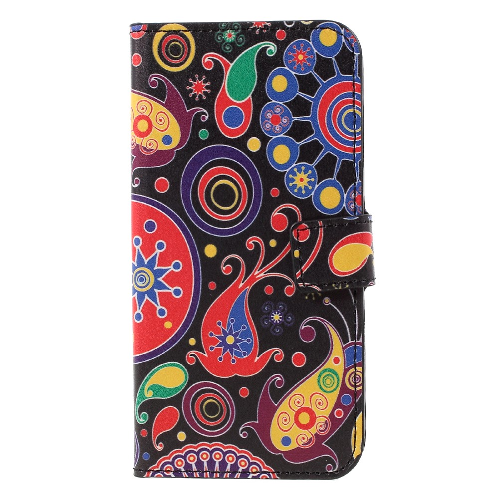 Image of   Samsung Galaxy S8 PU læder Flipcover m. Kortholder - Paisley Flowers