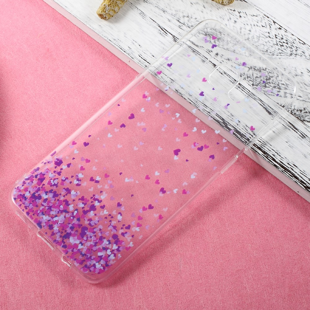 Image of   Samsung Galaxy S8 Plus InCover TPU Cover - Purple Hearts