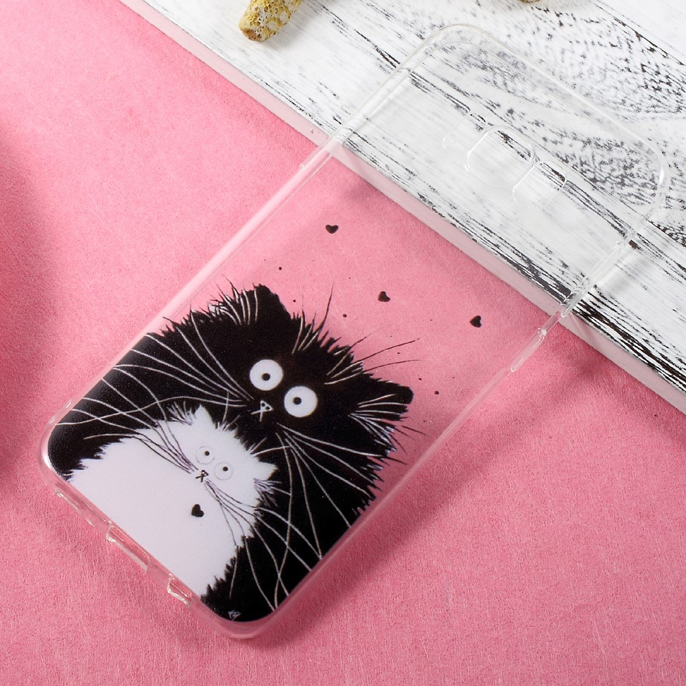 Image of   Samsung Galaxy S8 Plus InCover TPU Cover - Two Cats