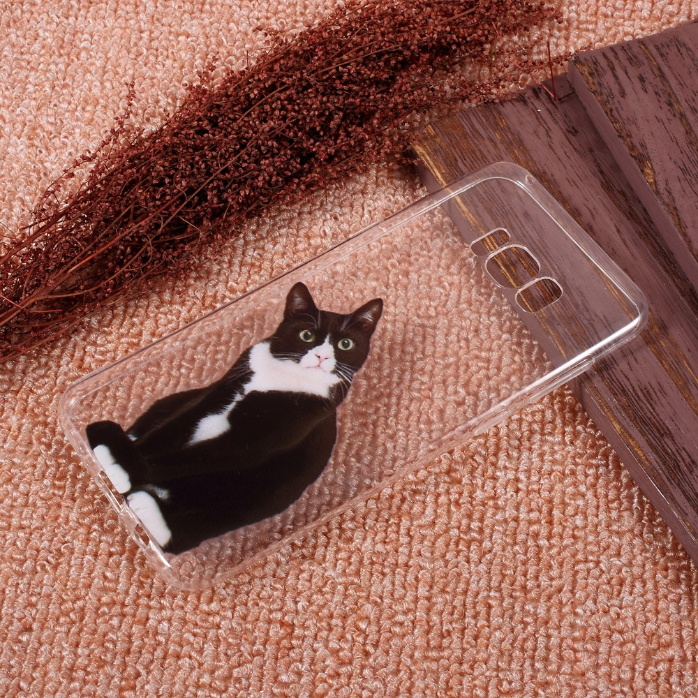 Image of   Samsung Galaxy S8 Plus InCover TPU Cover - Confused Cat