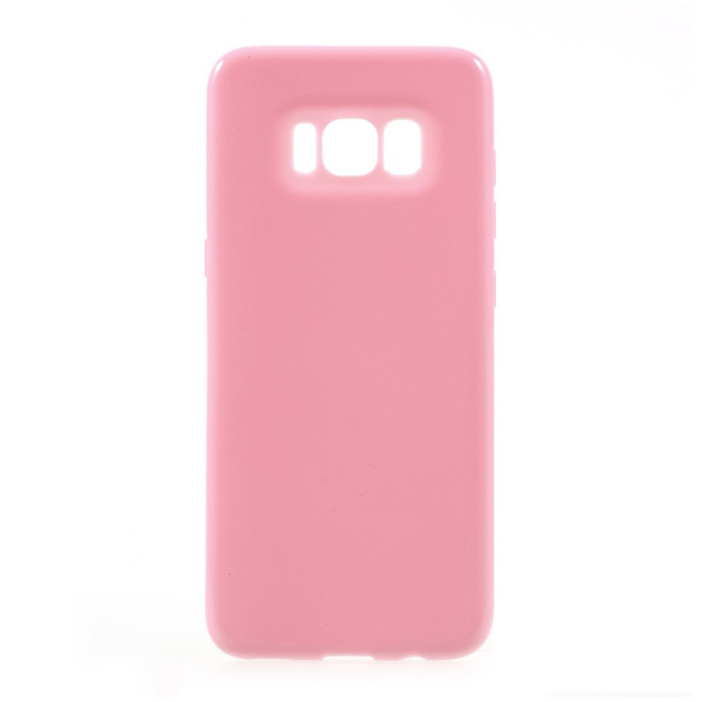 Image of   Samsung Galaxy S8 TPU Cover - Lyserød