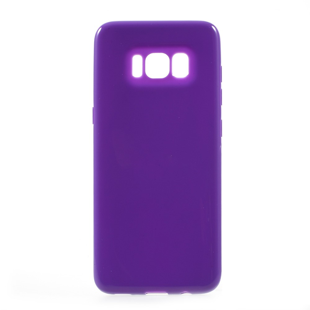 Image of   Samsung Galaxy S8 TPU Cover - Mørk lilla