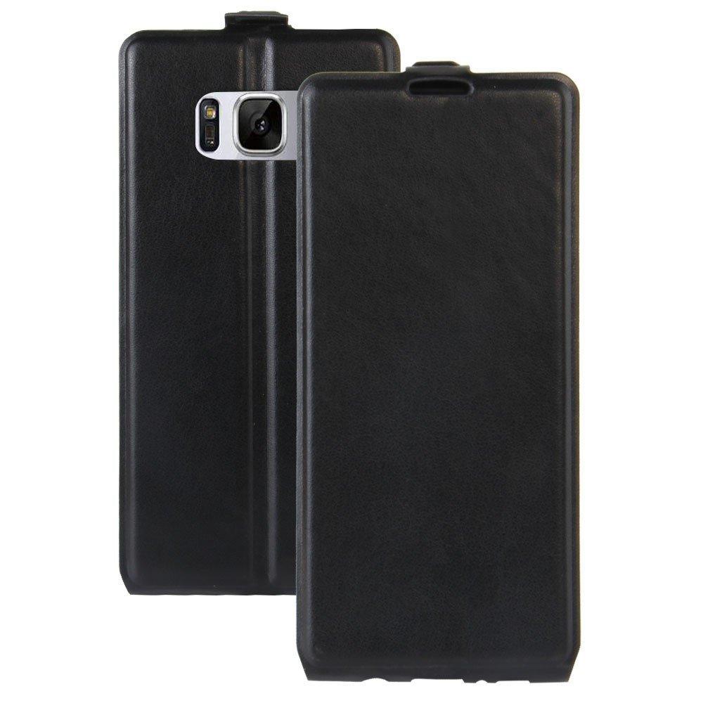 Image of   Samsung Galaxy S8 Vertikal Flipcover m. Fotoholder - Sort