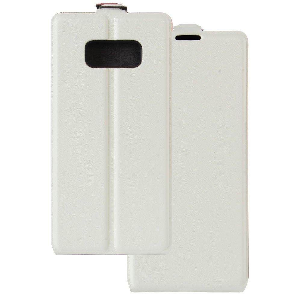 Image of   Samsung Galaxy S8 Vertikal Flipcover m. Fotoholder - Hvid