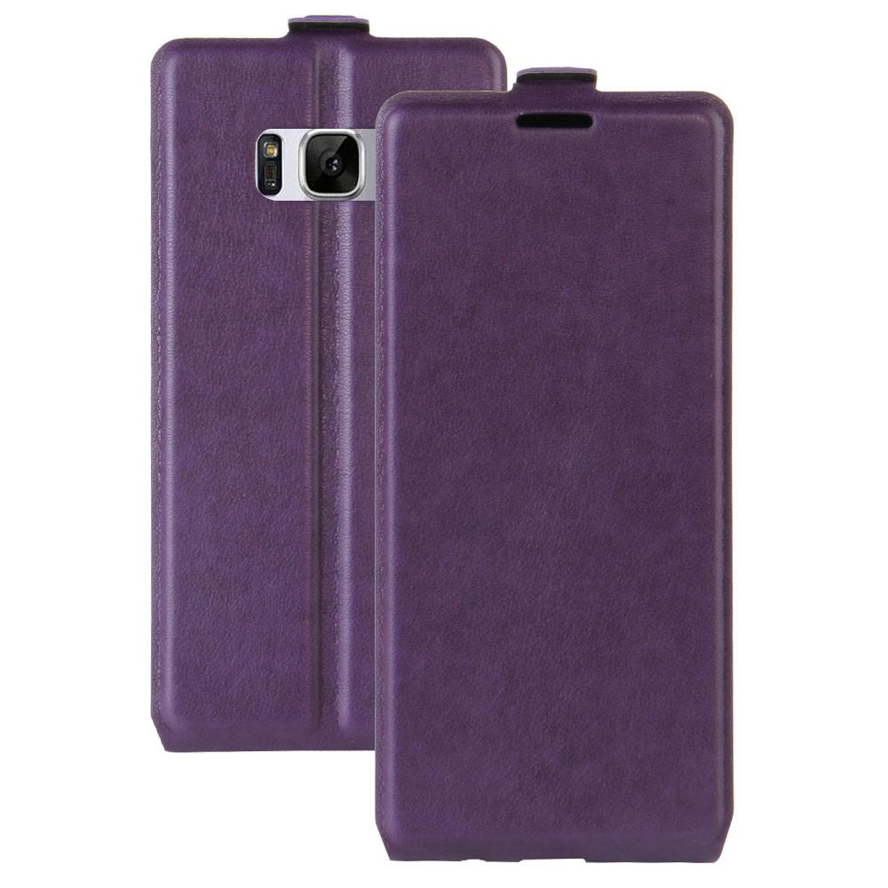 Image of   Samsung Galaxy S8 Vertikal Flipcover m. Fotoholder - Lilla