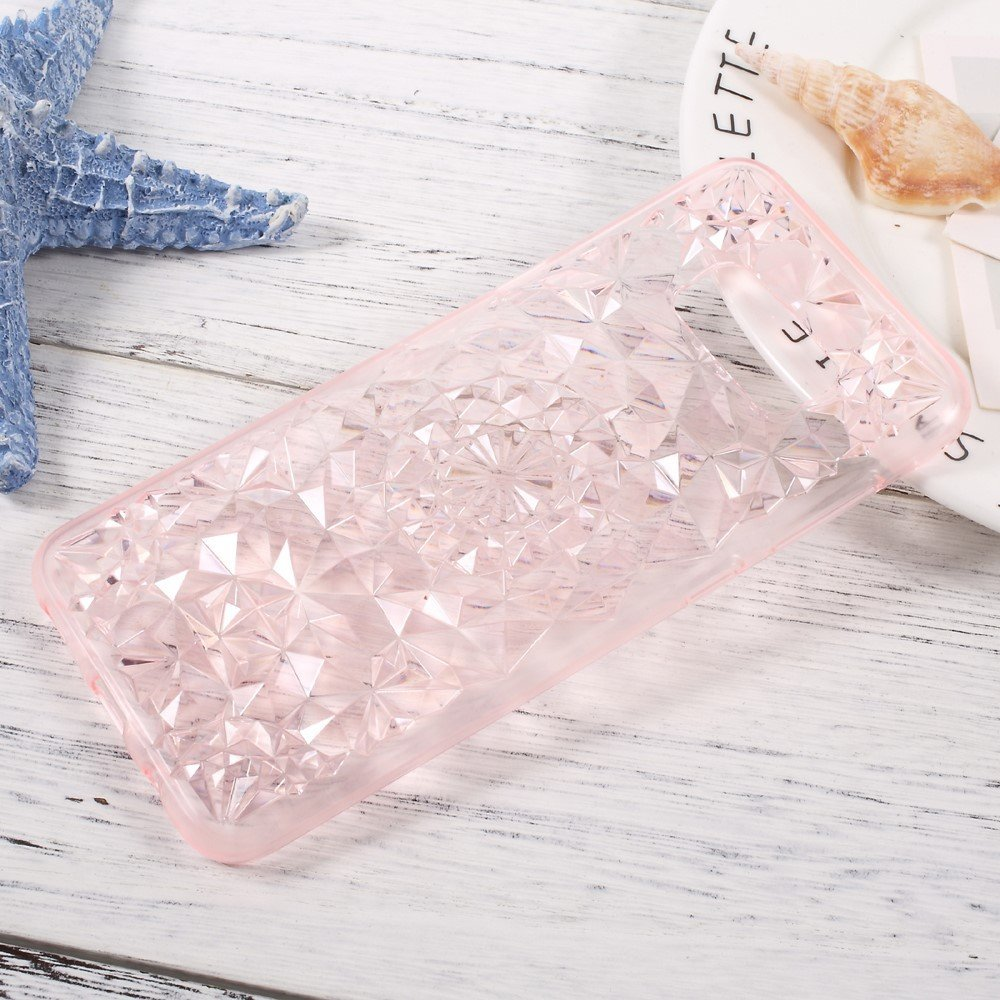 Image of   Samsung Galaxy S8 SULADA TPU Cover m. Diamantmønster - Pink