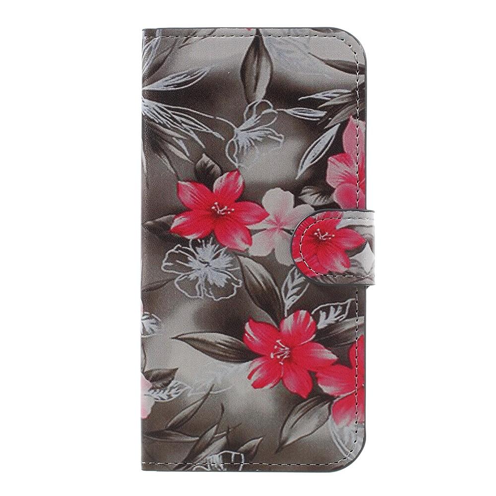 Billede af Samsung Galaxy J5 (2017) PU læder Flipcover M. Kortholder - Beautiful Flowers