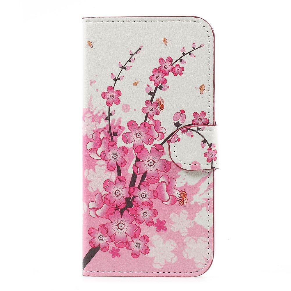 Billede af Samsung Galaxy J5 (2017) PU læder Flipcover M. Kortholder - Peach Blossom
