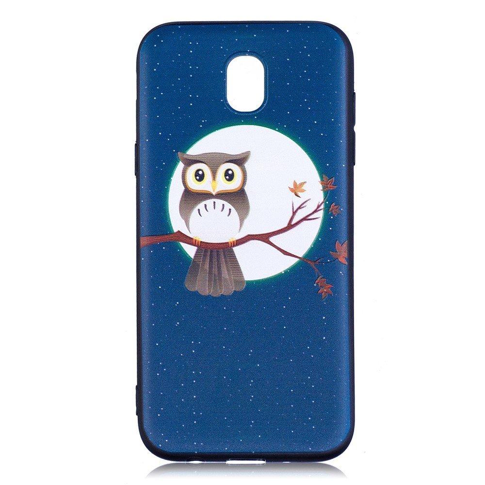 Billede af Samsung Galaxy J5 (2017) inCover TPU Cover - Owl on Branch