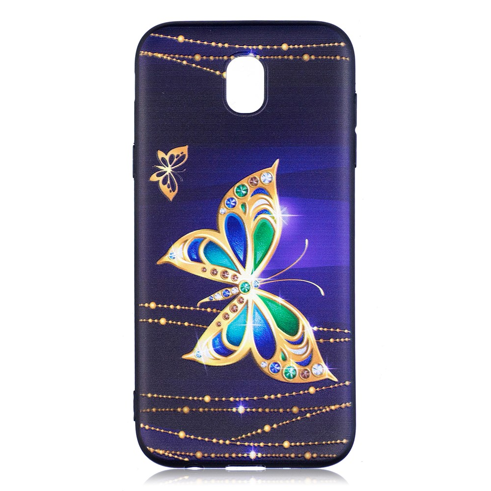 Billede af Samsung Galaxy J5 (2017) inCover TPU Cover - Diamond Butterfly