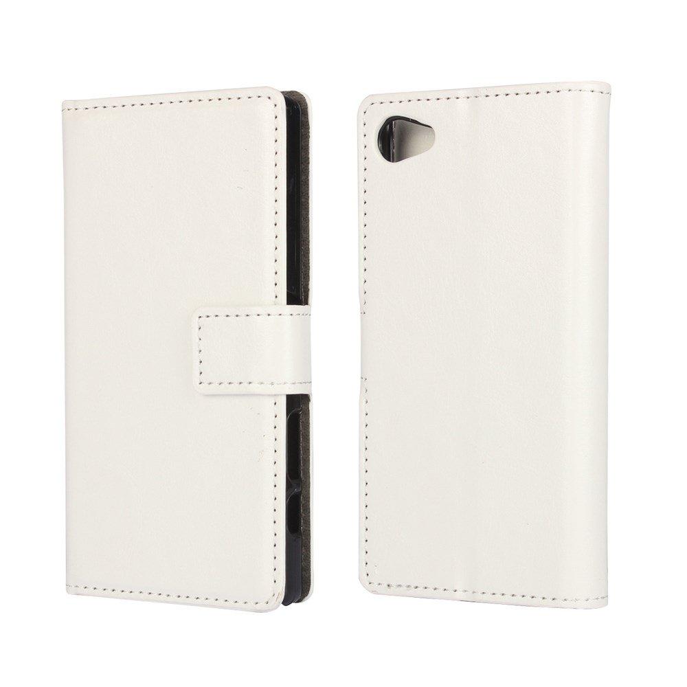 Billede af Sony Xperia Z5 Compact Flip Cover m. Pung - Hvid