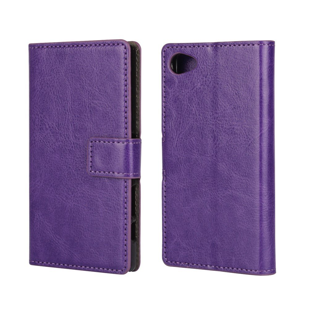 Billede af Sony Xperia Z5 Compact Flip Cover m. Pung - Lilla