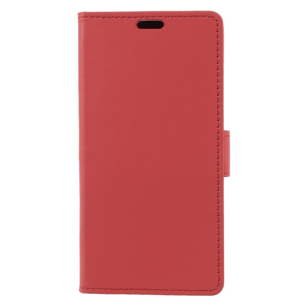 Billede af Sony Xperia XZ1 PU læder Flipcover m. Kortholder - Rød