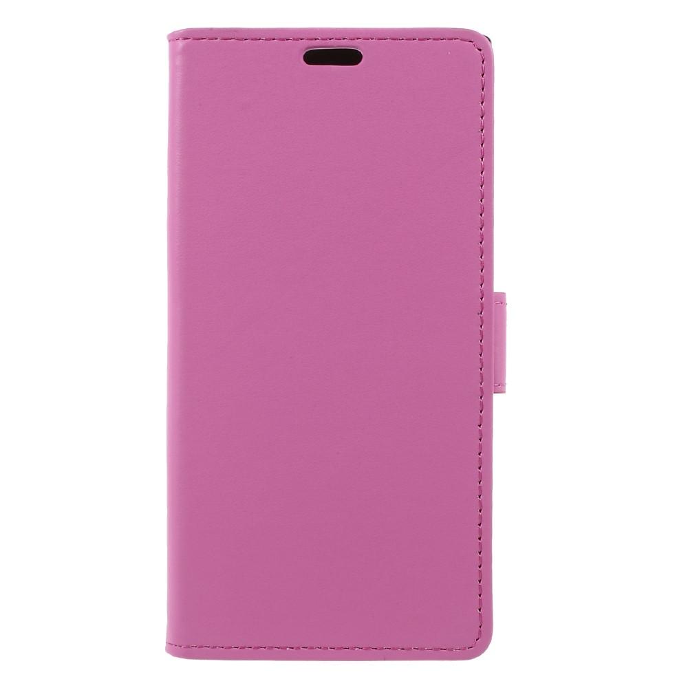 Billede af Sony Xperia XZ1 PU læder Flipcover m. Kortholder - Pink