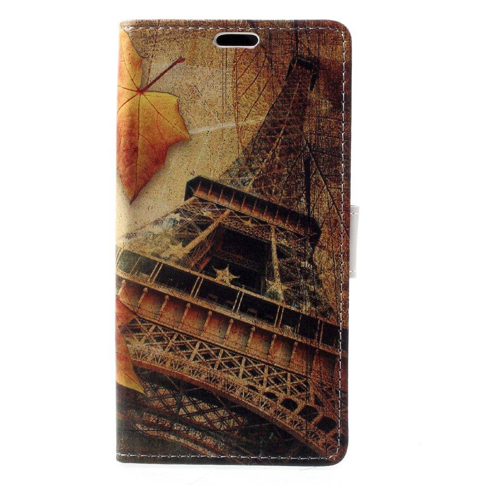 Billede af Sony Xperia XZ1 PU læder Flipcover m. Kortholder - Eiffel Tower