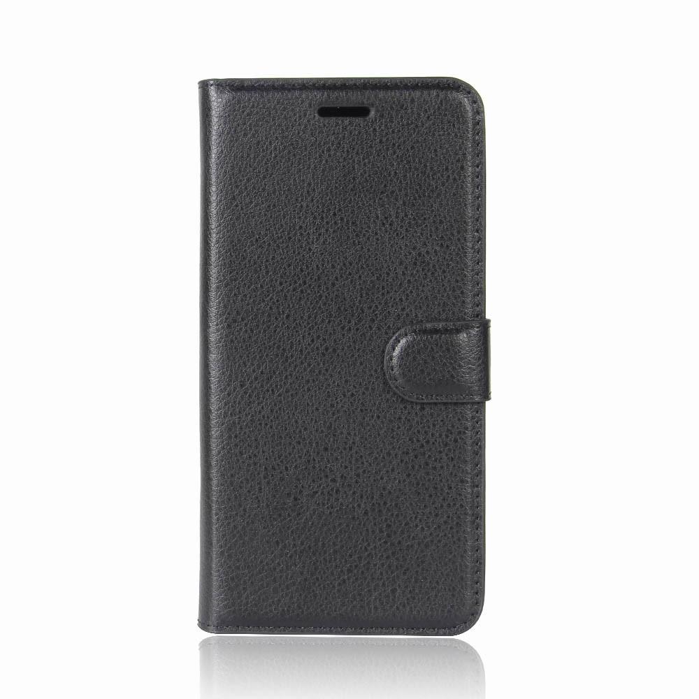 Billede af Sony Xperia XZ1 Compact Litchi Flipcover m. Kortholder - Sort