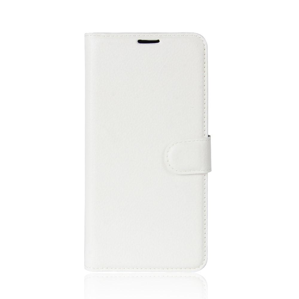 Billede af Sony Xperia XZ1 Compact Litchi Flipcover m. Kortholder - Hvid
