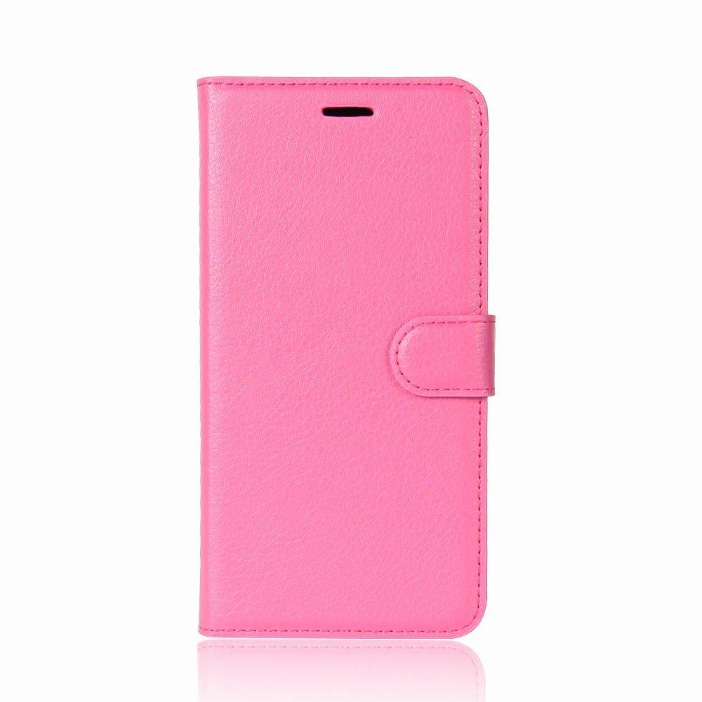 Billede af Sony Xperia XZ1 Compact Litchi Flipcover m. Kortholder - Pink
