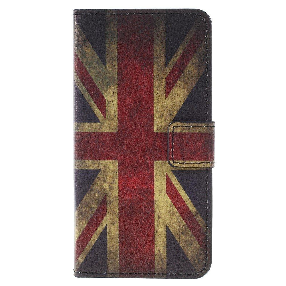 Billede af Sony Xperia XZ1 Compact PU læder Flipcover m. Kortholder - UK Flag
