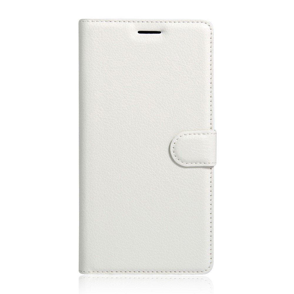 Billede af Sony Xperia XA Ultra Læder Cover m. Kortholder & Stand - Hvid