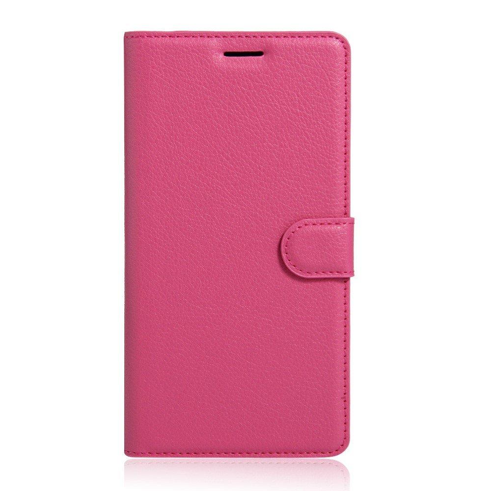 Billede af Sony Xperia XA Ultra Læder Cover m. Kortholder & Stand - Lyserød