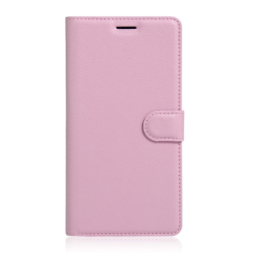 Billede af Sony Xperia XA Ultra Læder Cover m. Kortholder & Stand - Pink