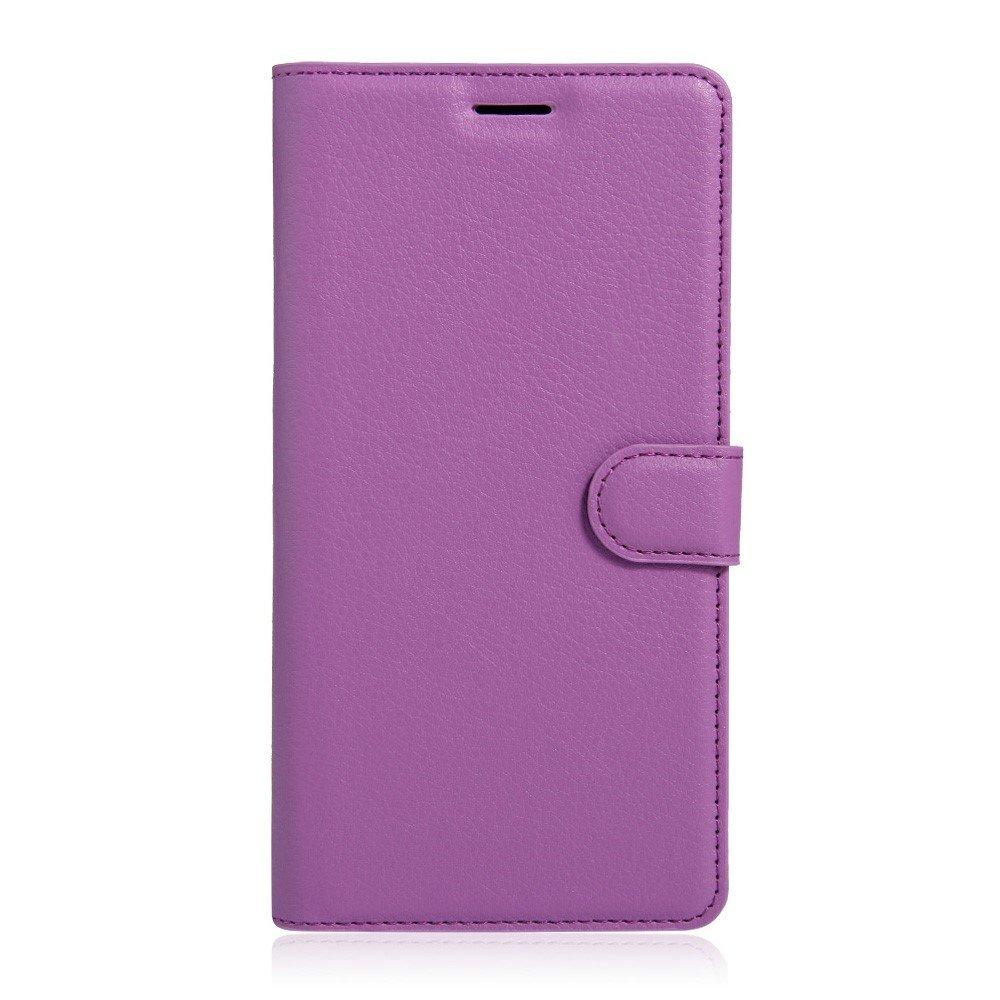 Billede af Sony Xperia XA Ultra Læder Cover m. Kortholder & Stand - Lilla
