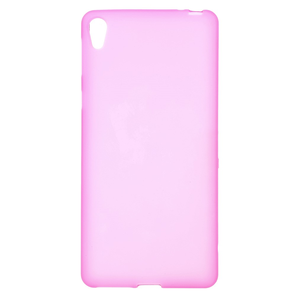 Image of   Sony Xperia E5 TPU Cover - Rosa
