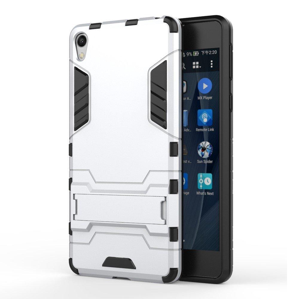 Billede af Sony Xperia E5 InCover TPU Hybrid Cover - Sølv