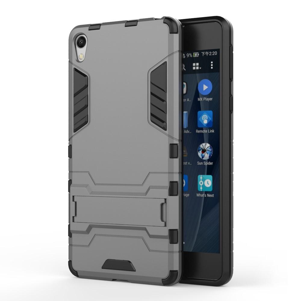 Billede af Sony Xperia E5 InCover TPU Hybrid Cover - Grå