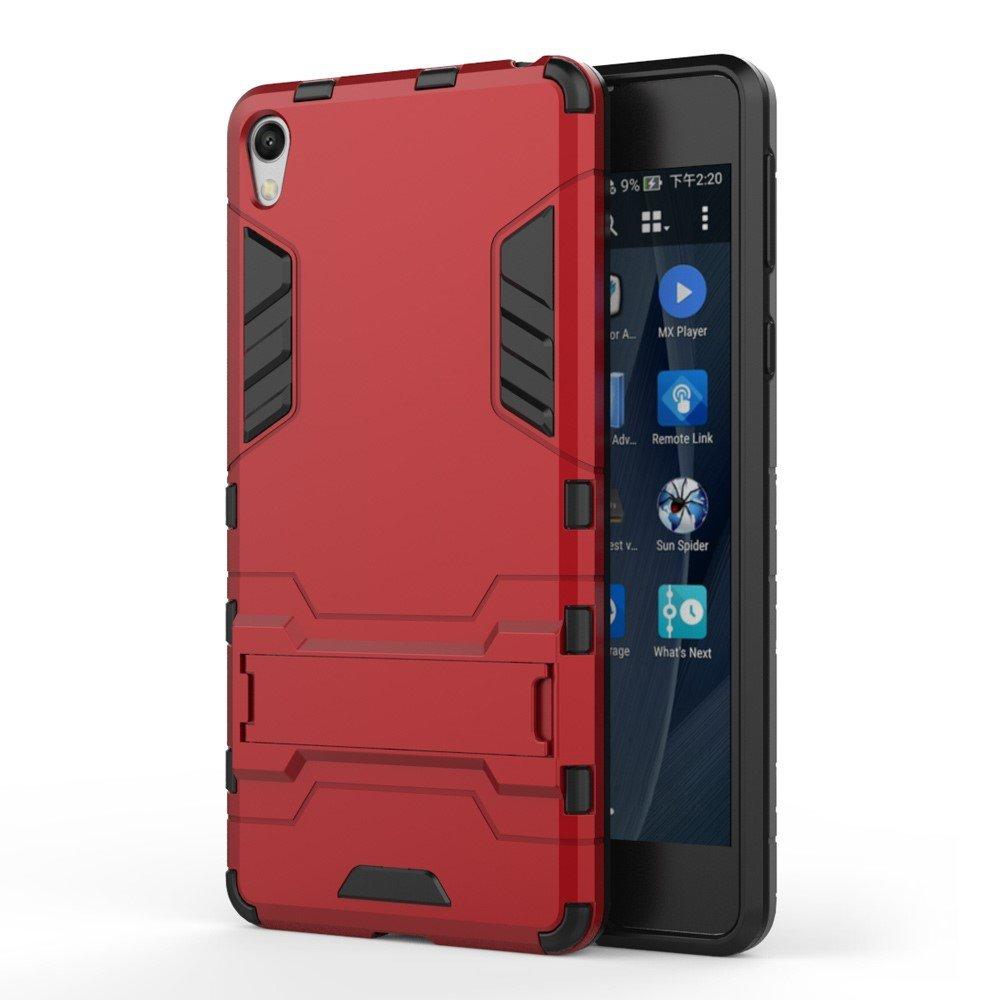 Billede af Sony Xperia E5 InCover TPU Hybrid Cover - Rød
