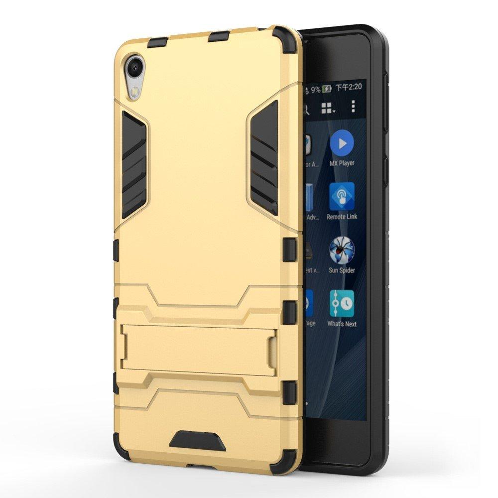 Billede af Sony Xperia E5 InCover TPU Hybrid Cover - Guld
