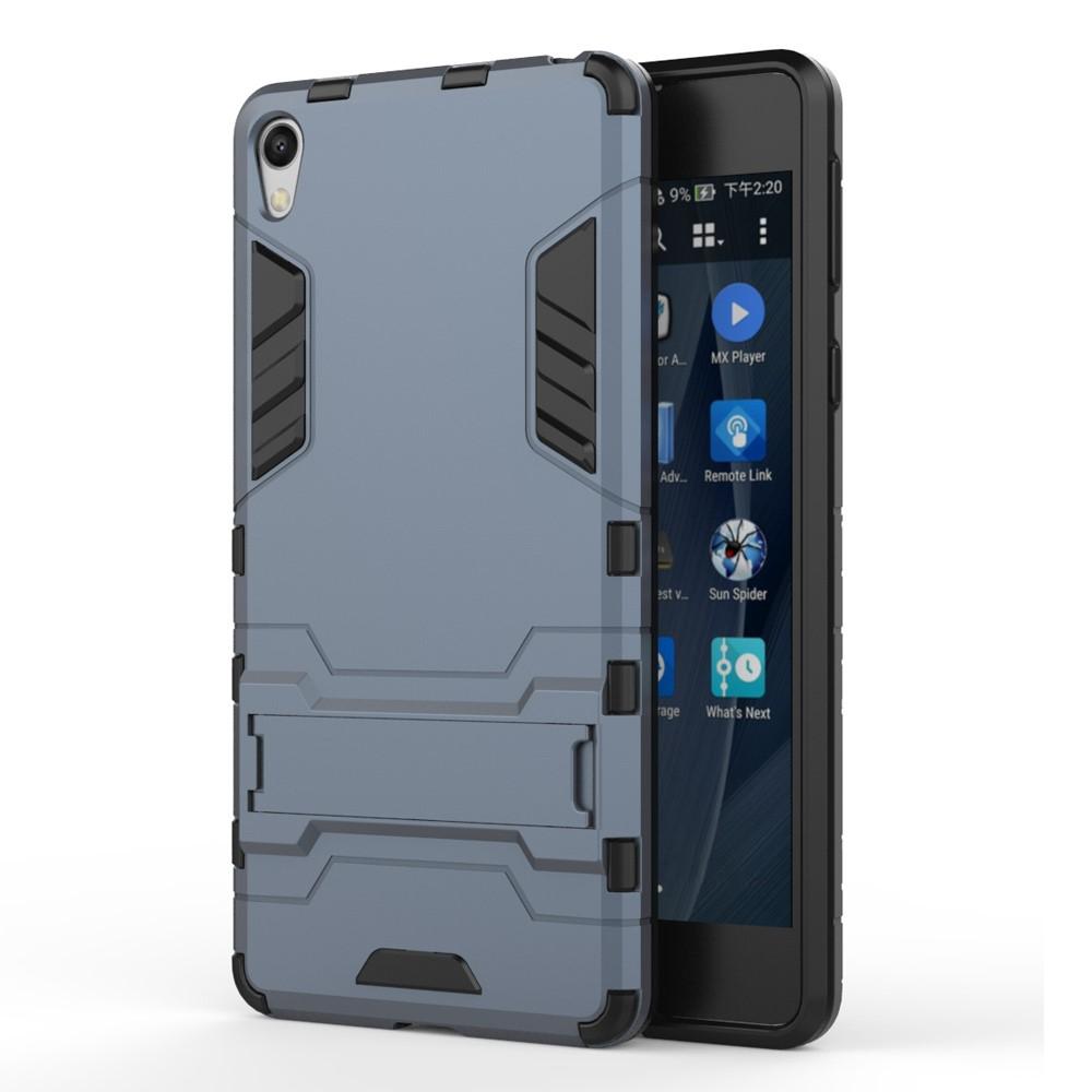 Billede af Sony Xperia E5 InCover TPU Hybrid Cover - Mørk blå