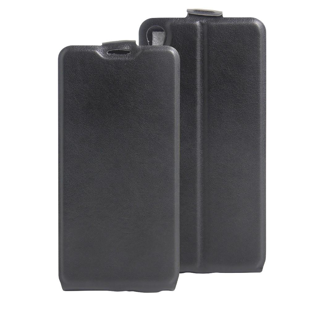Billede af Sony Xperia E5 Vertikal FlipCover i PU læder - Sort