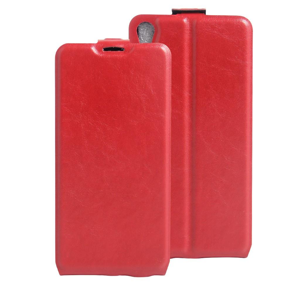 Billede af Sony Xperia E5 Vertikal FlipCover i PU læder - Rød