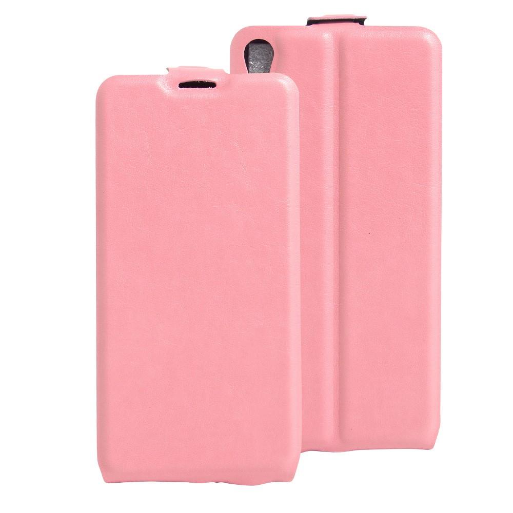 Billede af Sony Xperia E5 Vertikal FlipCover i PU læder - Pink