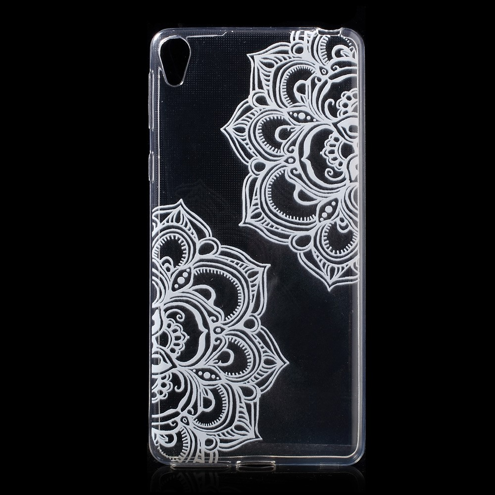 Image of   Sony Xperia E5 TPU Cover - Mandala Flowers