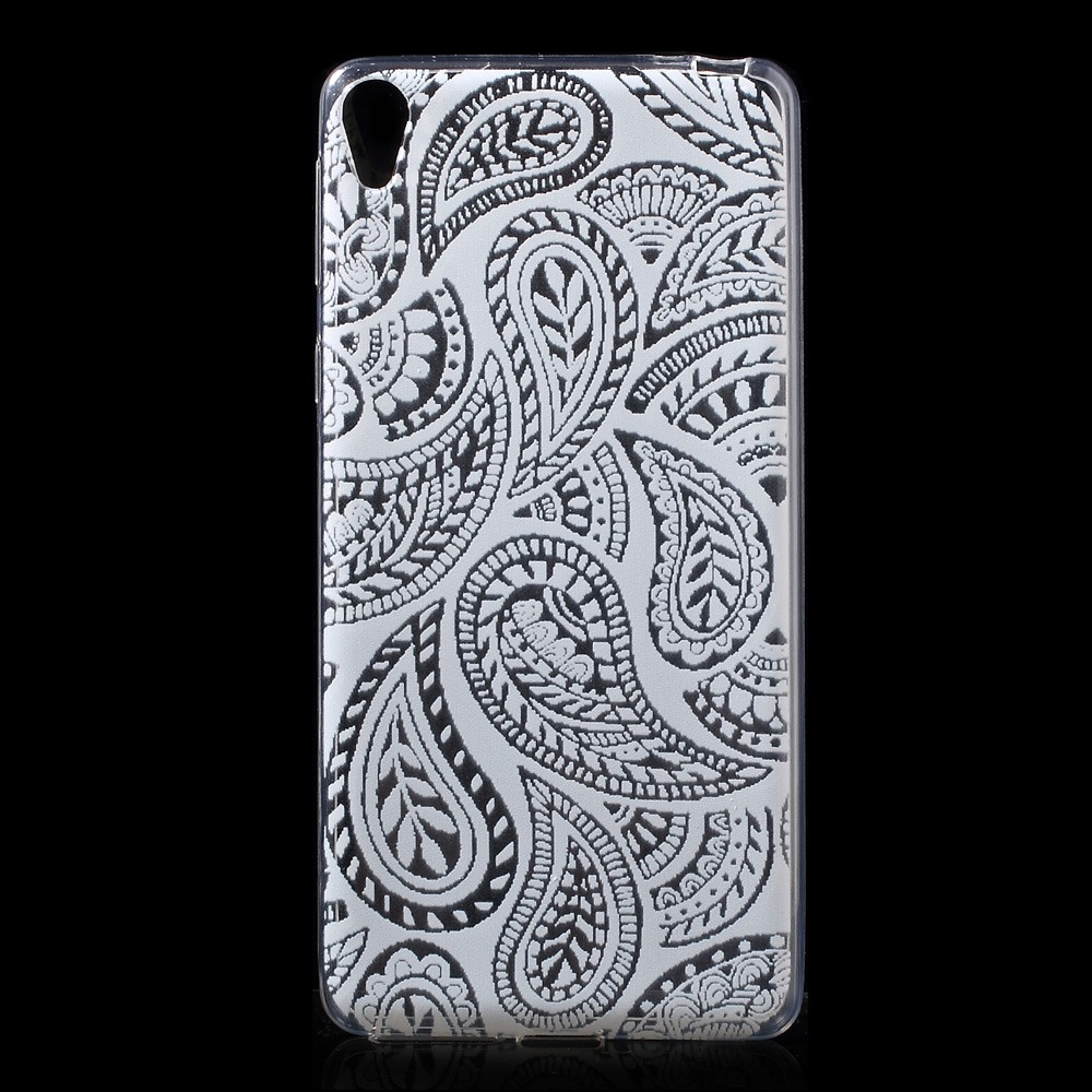 Image of   Sony Xperia E5 TPU Cover - Paisley Pattern