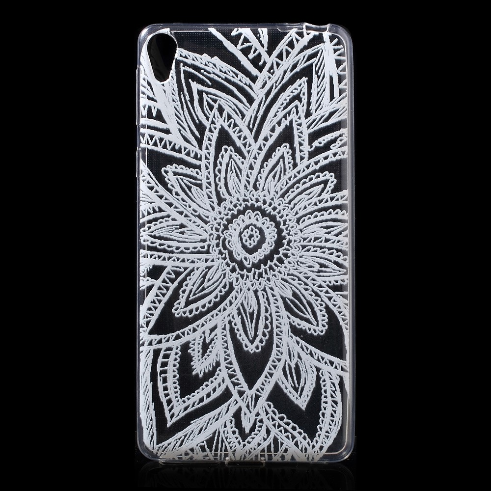 Image of   Sony Xperia E5 TPU Cover - Henna Lotus
