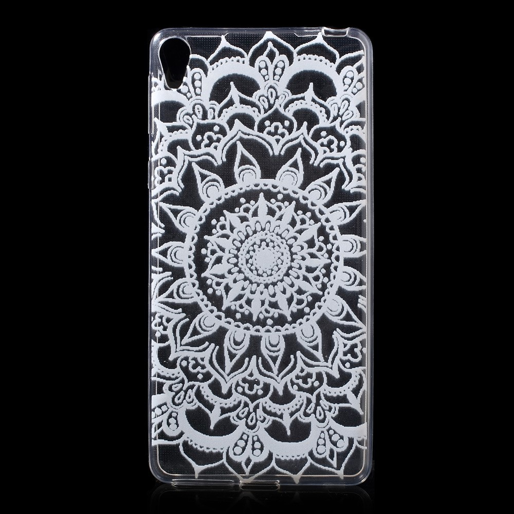 Image of   Sony Xperia E5 TPU Cover - Mandala Pattern