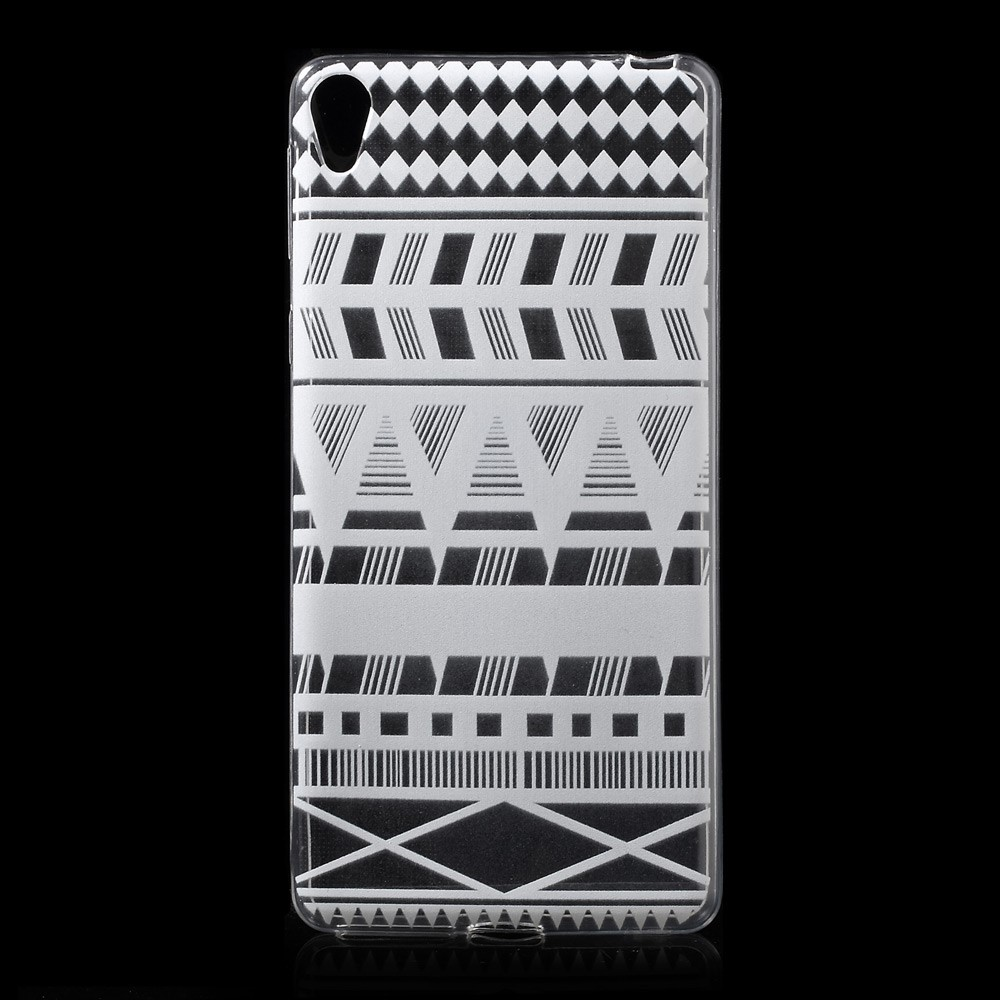 Image of   Sony Xperia E5 TPU Cover - Geometric Pattern