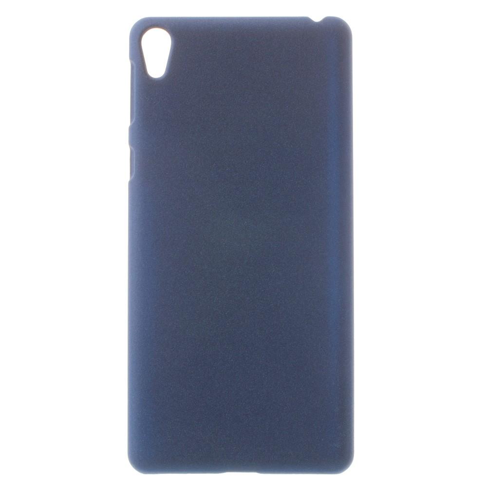 Billede af Sony Xperia E5 InCover Plastik Cover - Mat mørk blå