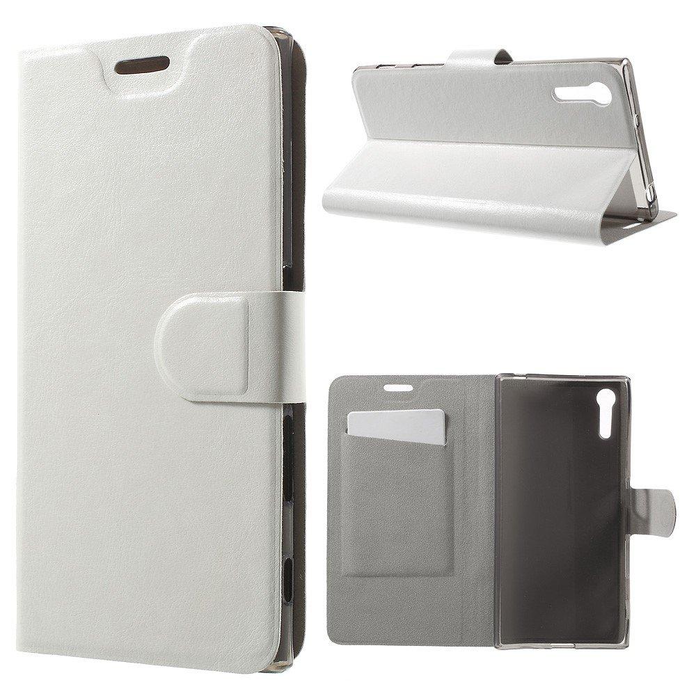 Billede af Sony Xperia XZ PU læder FlipCover m. Kortholder - Hvid