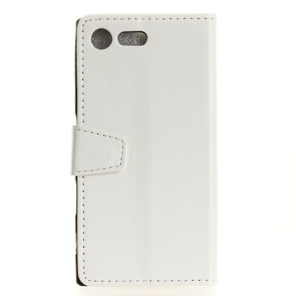 Billede af Sony Xperia XZ Premium PU læder Flipcover m. Kortholder - Hvid