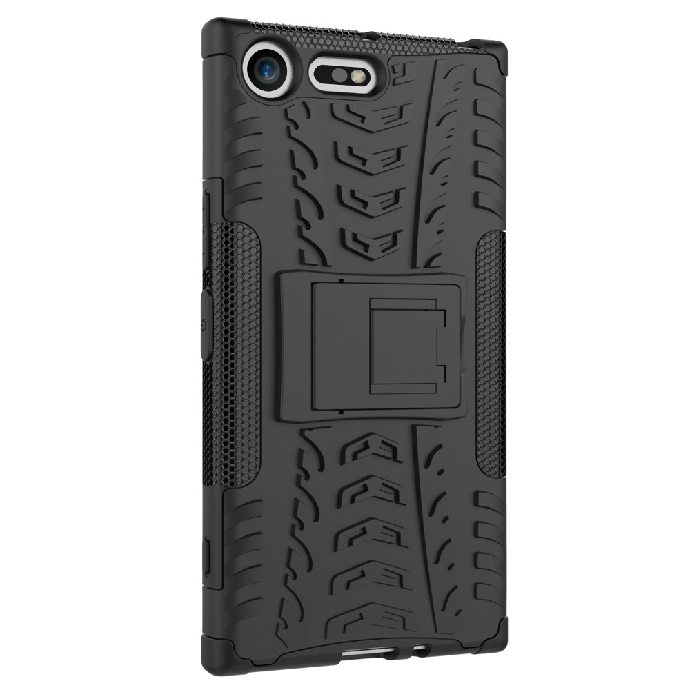 Billede af Sony Xperia XZ Premium InCover TPU Hybrid Cover - Sort