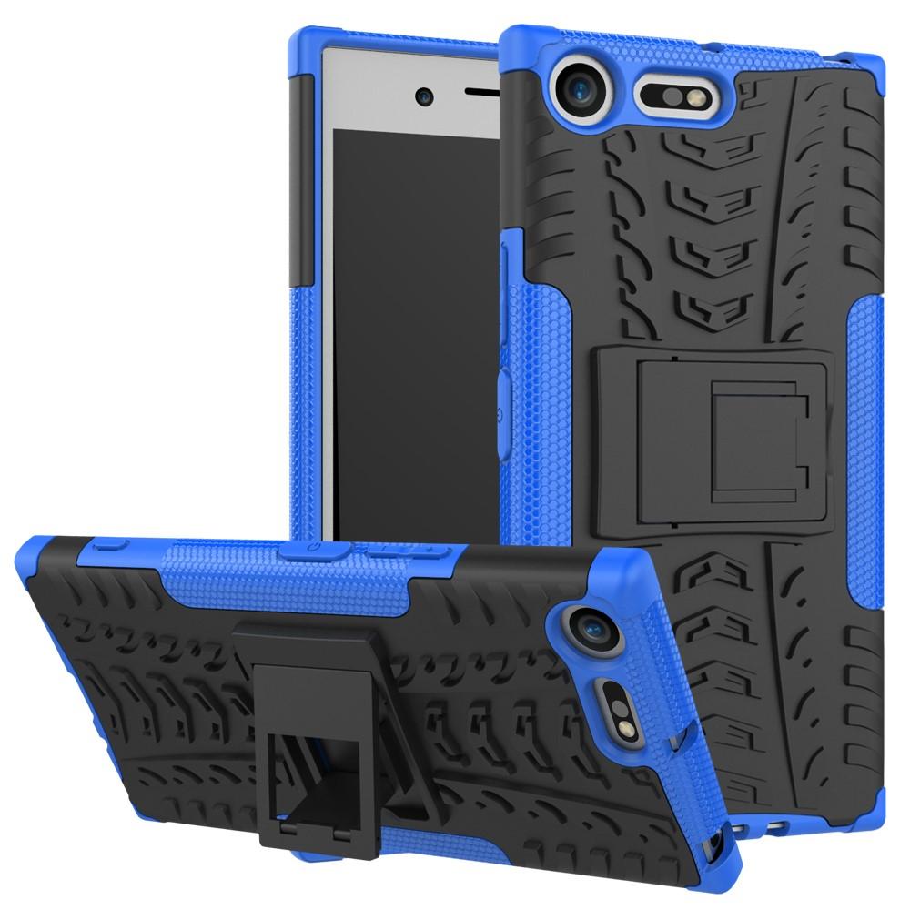 Billede af Sony Xperia XZ Premium InCover TPU Hybrid Cover - Sort/Blå