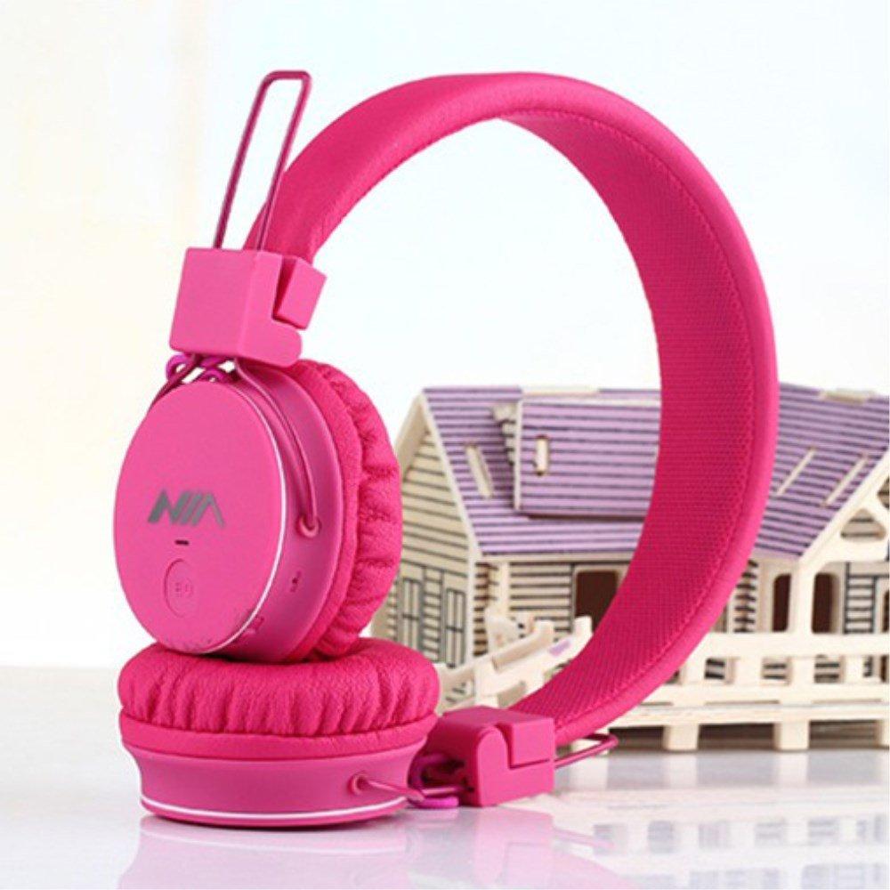 Billede af NIA Trådløst Bluetooth On-Ear Headset/Høretelefoner - Pink